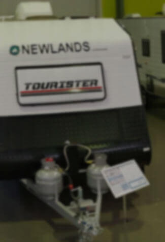 A Newlands Tourister in the dealership