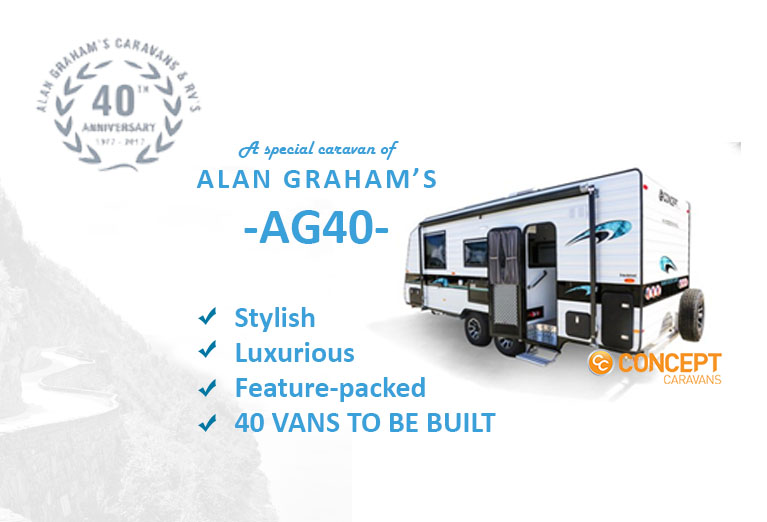 Alan Graham's AG40 a well built caravan with many features to consider