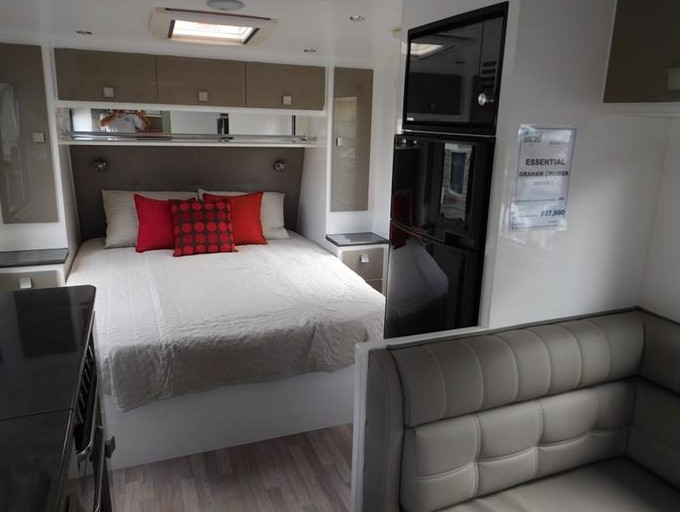 An interior design of Grant Cruiser Essential caravan