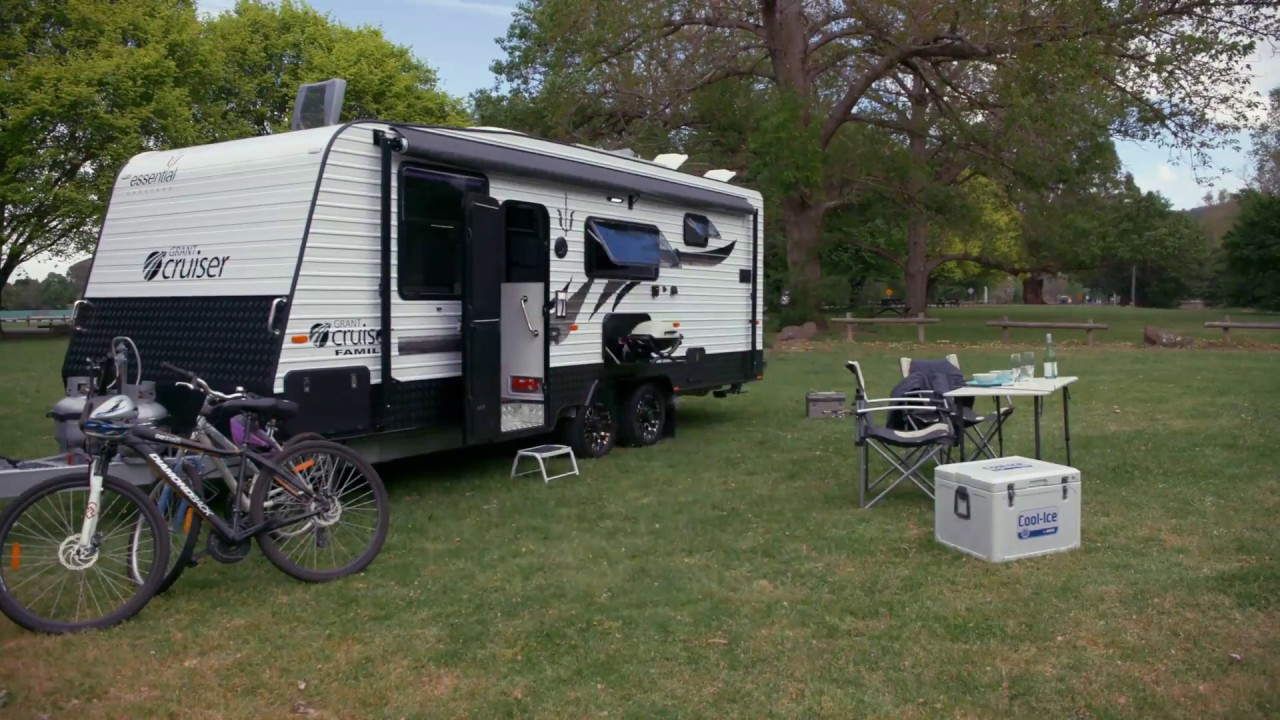 An Essential Cruiser Family caravan