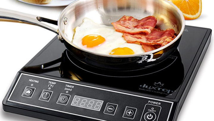 A portable induction cooktop